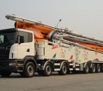 Cifa-Zoomlion vlasnik Ginisovog rekorda za najvišu auto beton pumpu dužine 101m